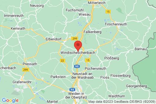 Karte Windischeschenbach