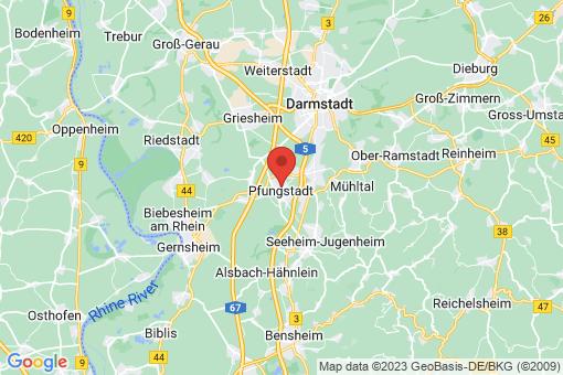Karte Pfungstadt