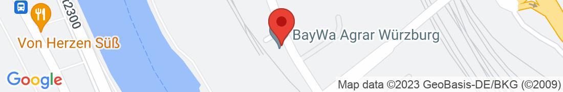 BayWa AG Würzburg Getreide Anfahrt