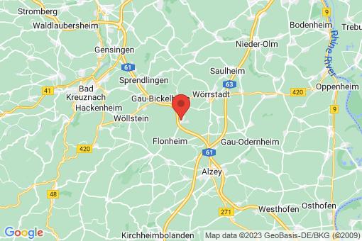 Karte Armsheim