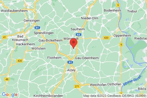 Karte Spiesheim