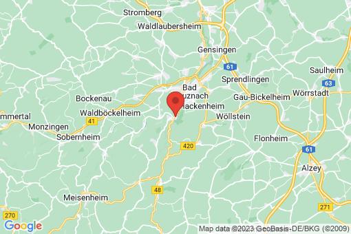 Karte Bad Münster am Stein-Ebernburg