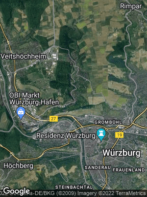 Google Map of Unterdürrbach