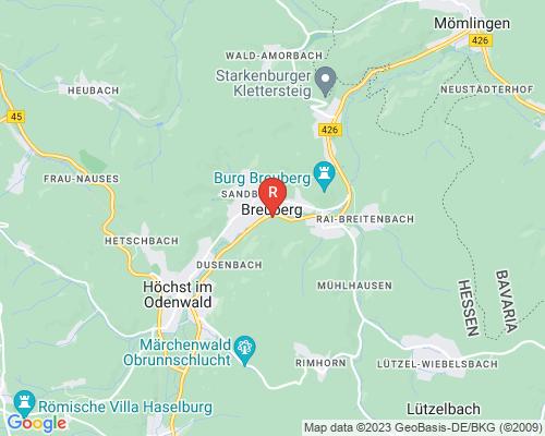 Google Karte von Rohrreinigung Breuberg