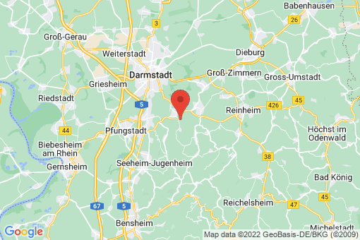 Karte Mühltal