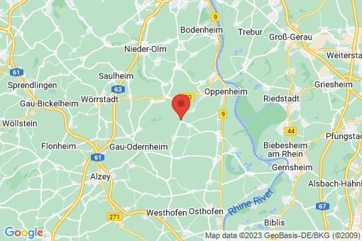 Karte Weinolsheim