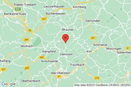 Karte Oberhosenbach