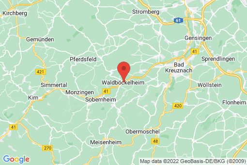 Karte Waldböckelheim