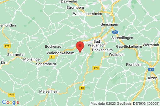 Karte Hüffelsheim