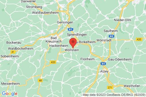 Karte Wöllstein