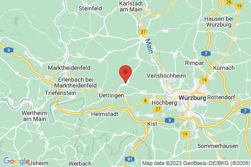 Karte Greußenheim