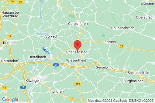 Karte Prichsenstadt