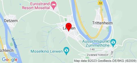 Google Map für Tobetour 4 zkb wohnung Leiwen