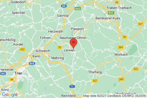 Karte Trittenheim