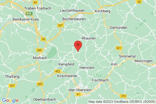 Karte Hottenbach