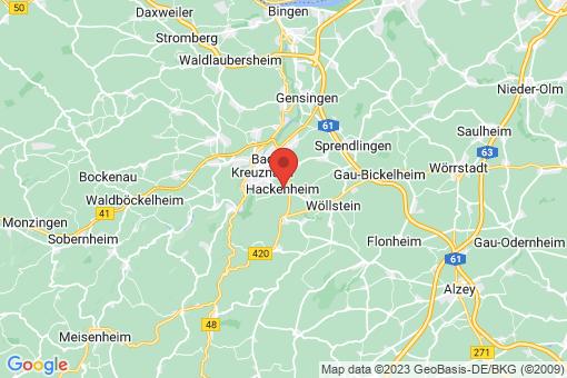 Karte Hackenheim