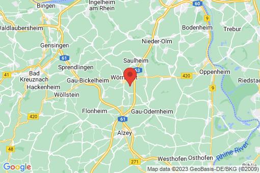 Karte Schornsheim