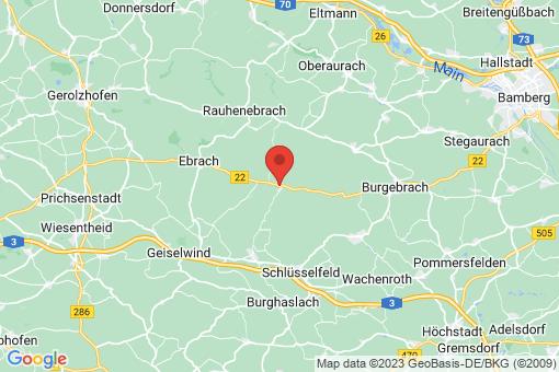 Karte Burgwindheim