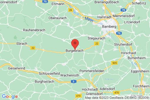 Karte Burgebrach