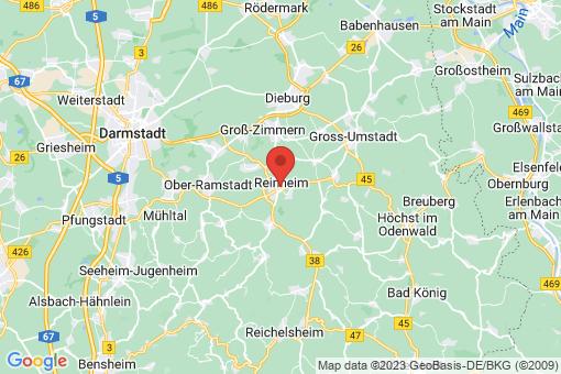 Karte Reinheim