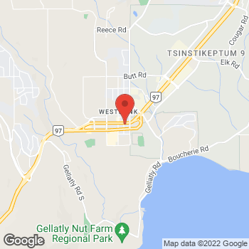 Map of PostNet at 2417 Main Street, West Kelowna, BC V4T 2H8