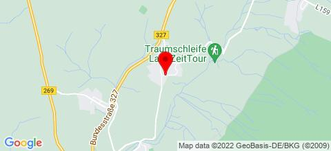 Google Map für Ferienhaus Störzel