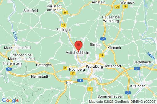 Karte Veitshöchheim