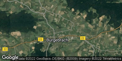 Google Map of Burgebrach