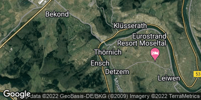 Google Map of Ensch