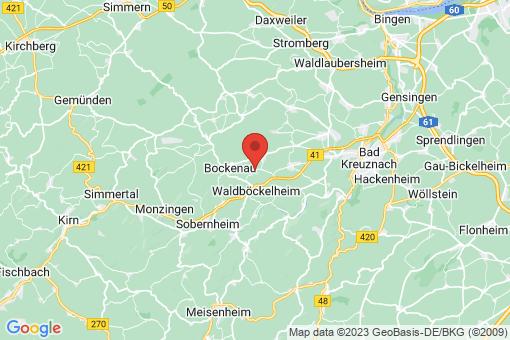 Karte Burgsponheim