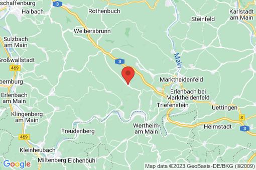 Karte Schollbrunn