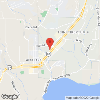 Map of Arby's at 3031 Louie Dr., Unit 401, Kelowna, BC V4T 3E2