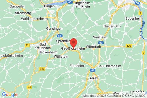 Karte Gau-Bickelheim