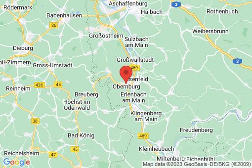 Karte Obernburg am Main
