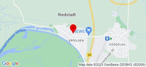 Google Map für Private Zimmervermietung Treuer