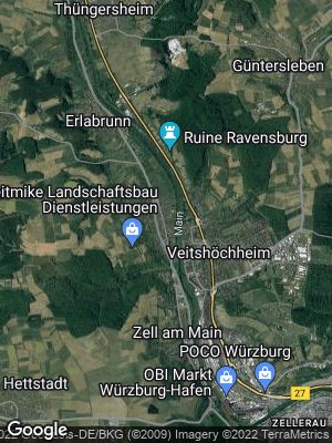 Google Map of Margetshöchheim