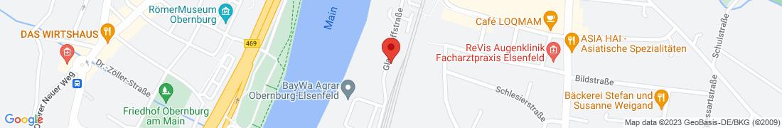 BayWa Agrar Obernburg-Elsenfeld Anfahrt