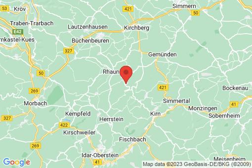 Karte Bundenbach