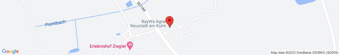 BayWa AG am Kulm Anfahrt