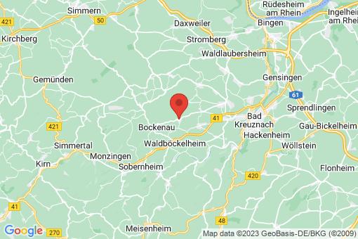 Karte Sponheim