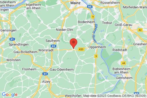 Karte Köngernheim