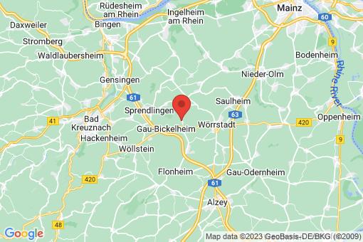Karte Gau-Weinheim
