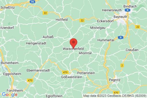 Karte Waischenfeld
