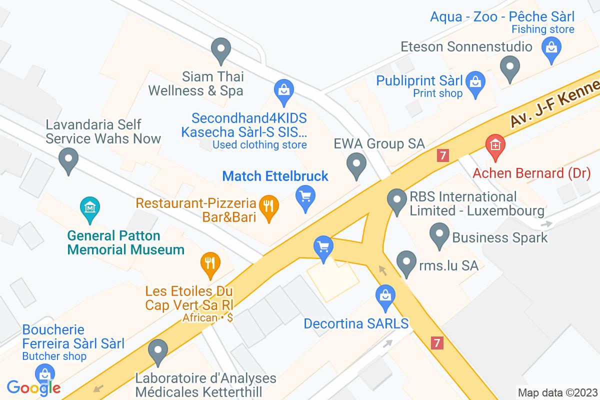 situation du Match Ettelbrück