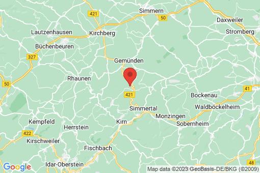 Karte Königsau