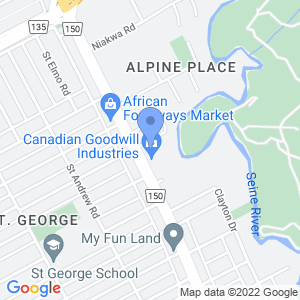 St Anne's Stop & Shop Map