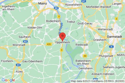Karte Oppenheim