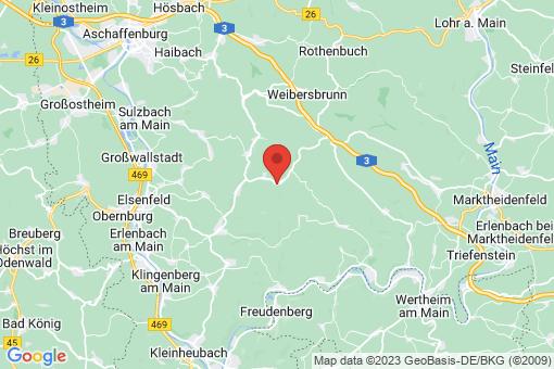 Karte Dammbach