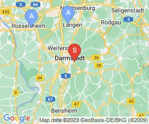 Karte für Kletterwald Darmstadt