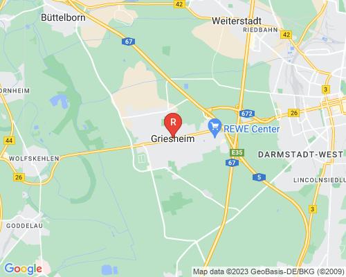 Google Karte von Rohrreinigung Griesheim